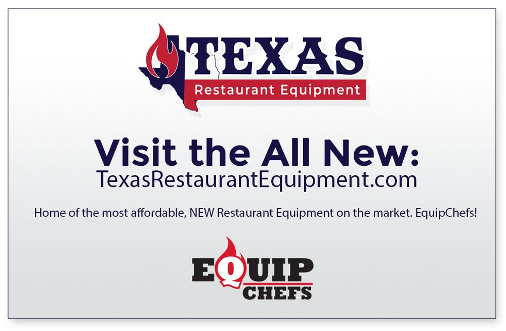 texas reastaurant eqipment banner